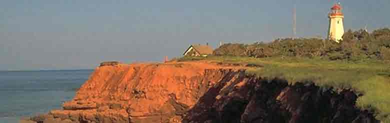 Light House on Prince Edward Island