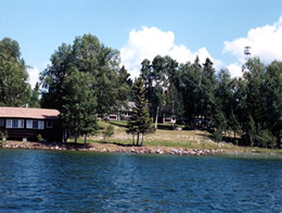 View of Lodge from the Lake