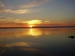 /resorts-for-sale-canada-golden-sunset-over-lake