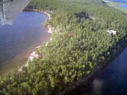Lodge Aerial View